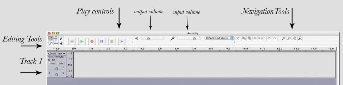 Audacity Interface