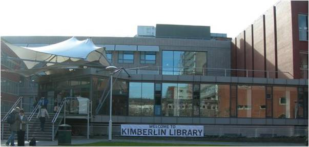photo of Kimberlin library