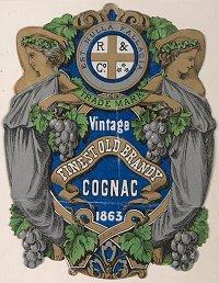 Vintage Cognac, 1863 H96.160/2125