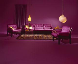'Fleurama' range lounge suite, Mark Strizic,
