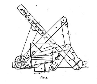 Line drawing of the Sunshine harvester. Inventor: Hugh McKay. Patent 4006 of 1885.