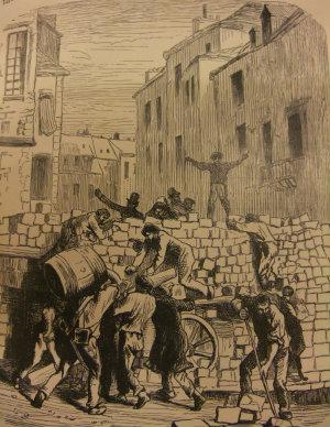 The barricade  Les Misérables (1887) vol 4 p 387
