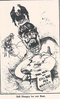 Labor Call (Melbourne), 6 April 1916, p. 5. title=
