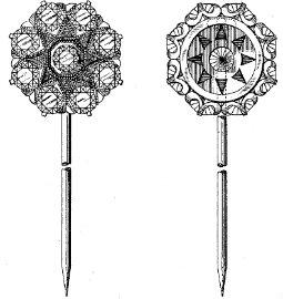 Scarf pin design 67450 2 June 1925
