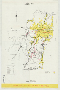 Image of Sydney's water supply system in 1960