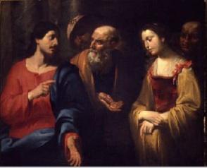 Women taken in Adultry