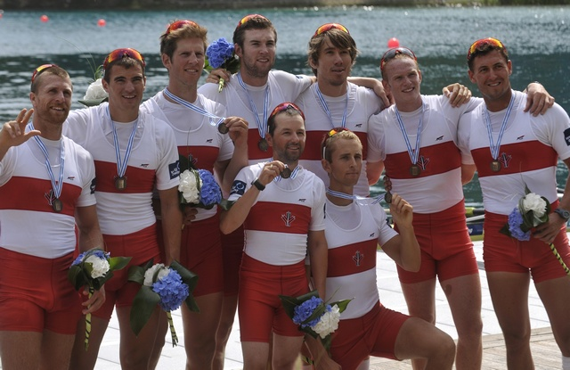 Canadian Rowers Win Bronze, World Games, Sept. 2011. Image: Copyright Reuters. Source: Associated Press in FACTIVA. Oct. 14, 2011.