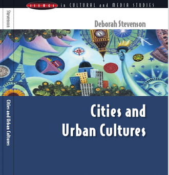 """book cover for """"Urban Cities"""""""