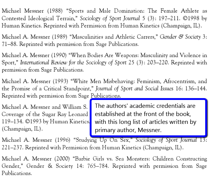 page of the ebook showing the author's past works