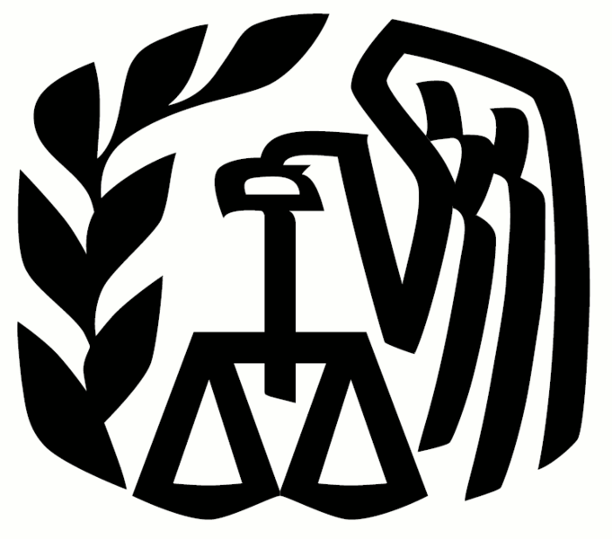 A black and white logo featuring a branch, a stylized eagle, and a set of scales at the center.