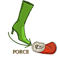 Force on a soda can