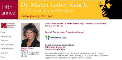 GP C's January 15th celebration of Martin Luther King Jr's Birthday