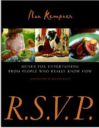 RVSP Menus for Entertaining