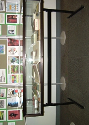 Glass case for the Townsend Prize 2012 display