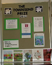 Center Panel for the Townsend Prize 2012 display