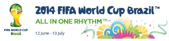 FIFA World Cup 2014 Logo and Slogan