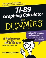 Using the TI-89 Graphing Calculator for Dummies