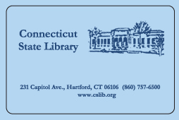 CT State Library card