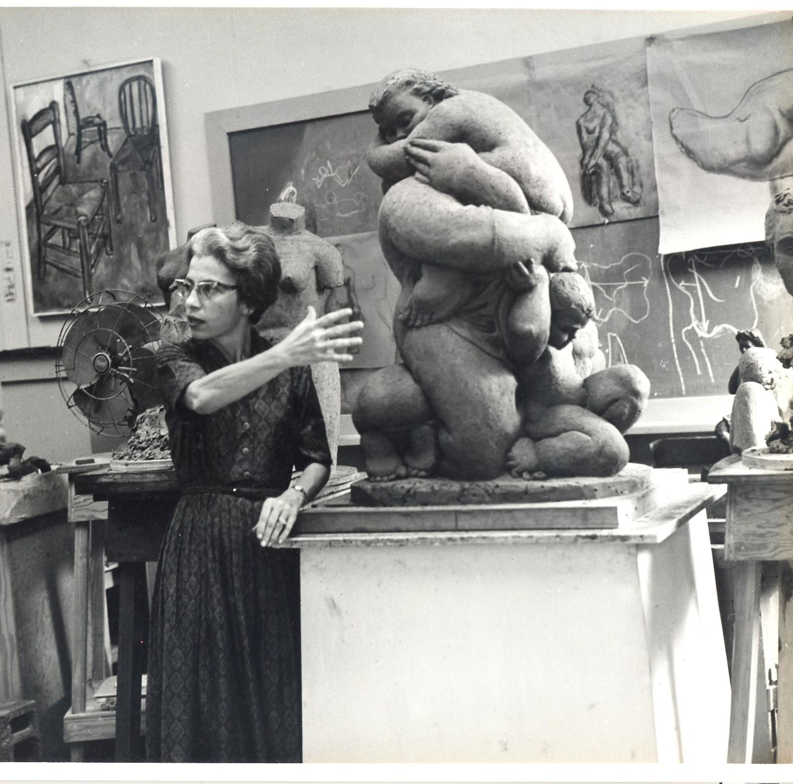 Luisa Géigel, c.1970. Photo courtesy of Yamila Azize-Vargas,Ph.D.