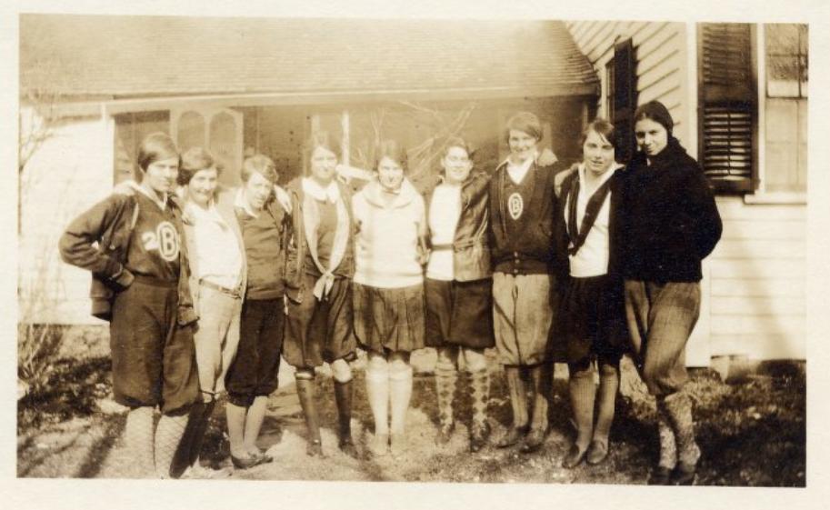 Women of Brown. Class of 1929.