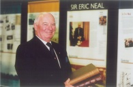 Sir Eric Neal; Image source: UniSA Library