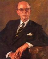Portrait of Gavin Walkley by Sir Ivor Hele; Image source: UniSA Library