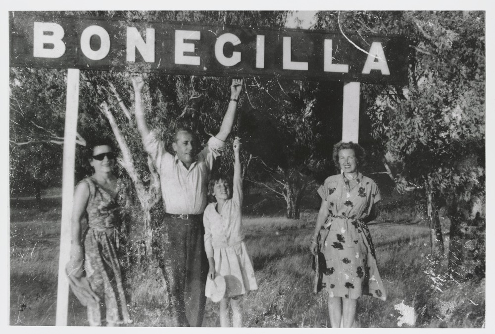 The Botterri family, Bonegilla Migrant Hostel