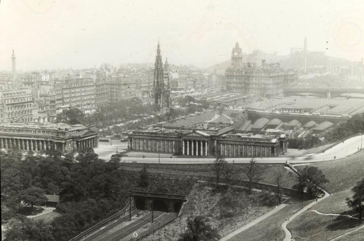 Edinburgh. Scenes from Scotland.