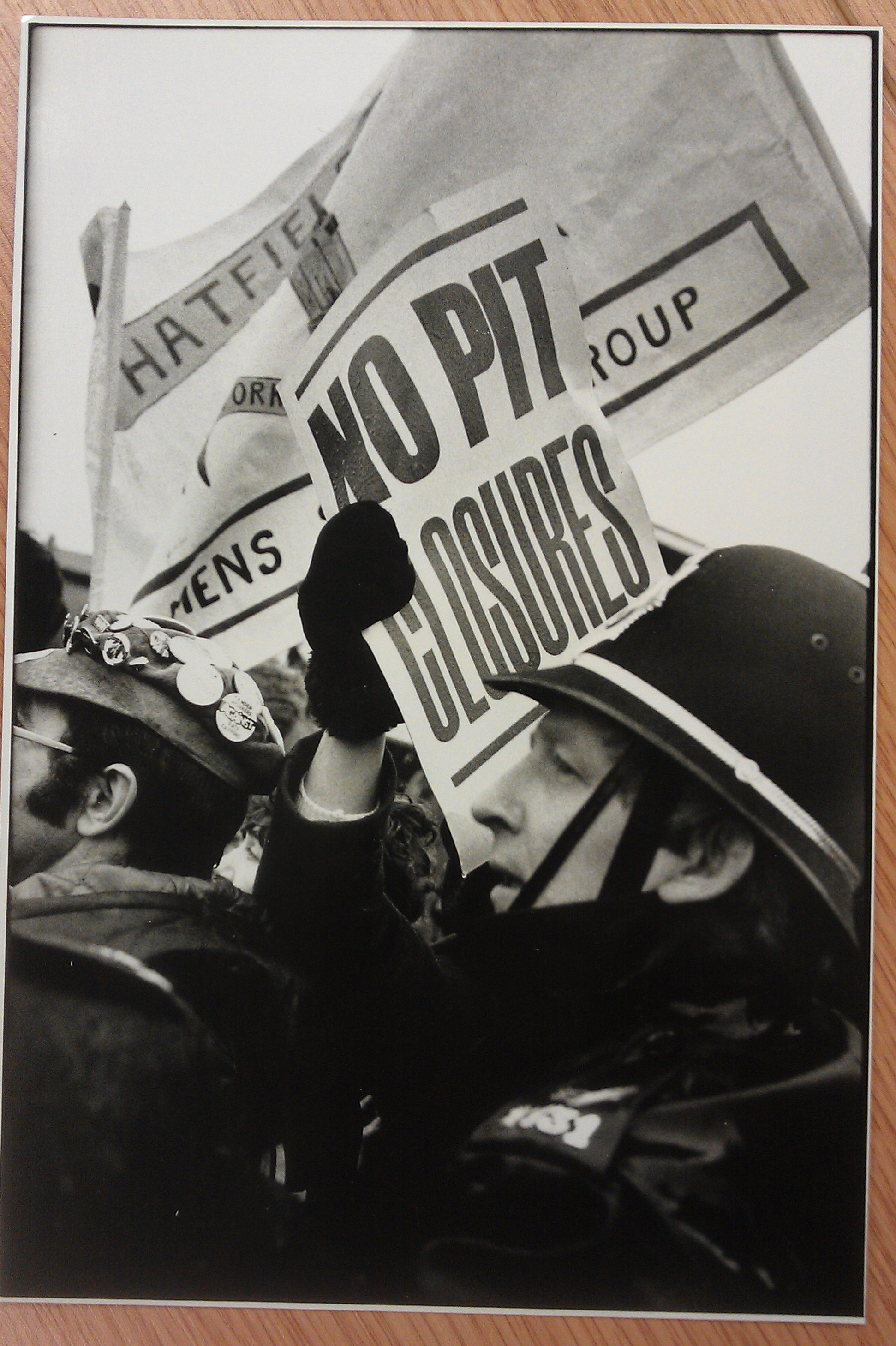 Image from Undermined? : Britain and the miners' strike by Martin Jenkinson, John Harris and John Sturrock (1994)
