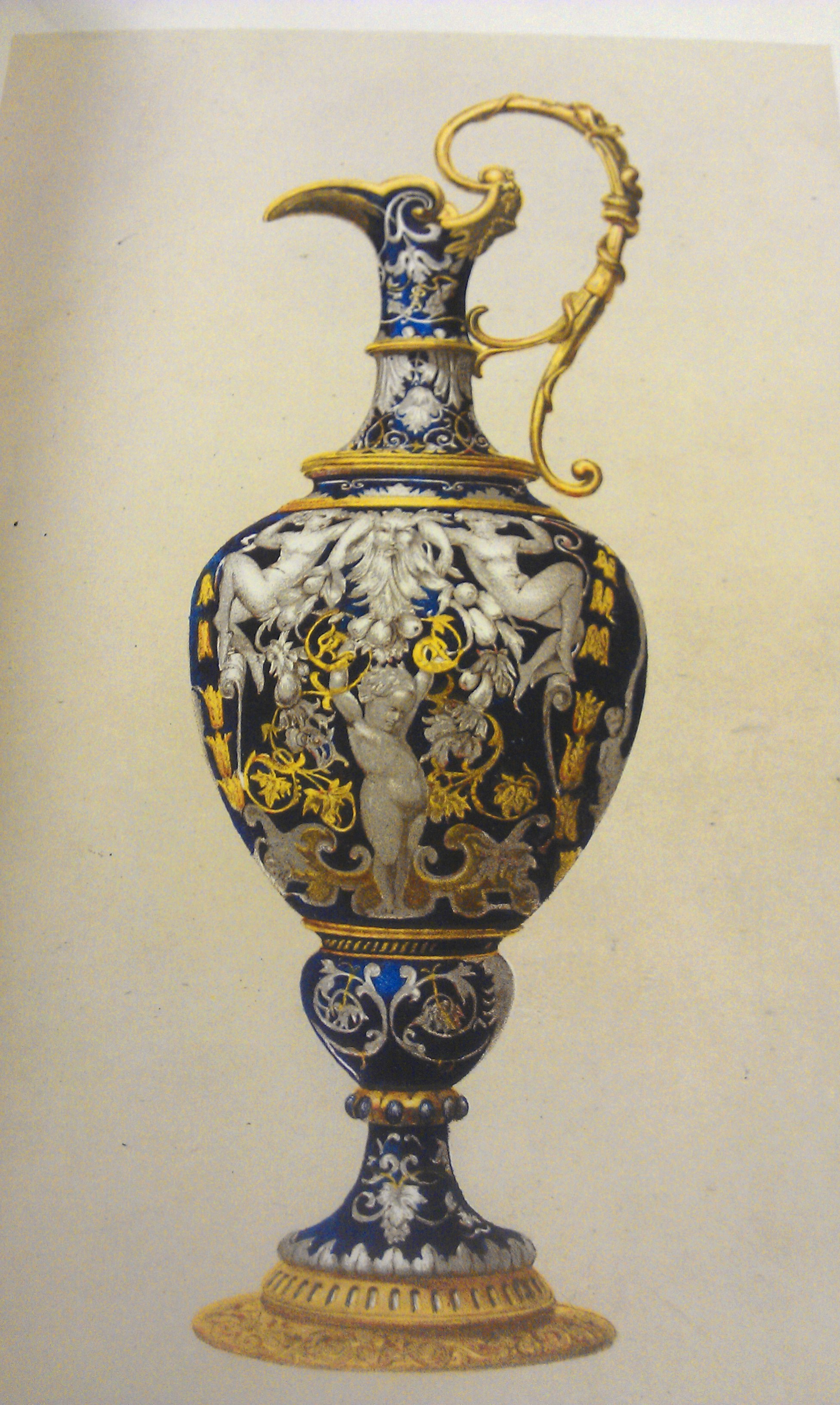 Image from the The Treasury of ornamental art by J.C. Robinson
