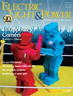 "image of cover of ""Electric Light & Power,"" an industry/trade journal"