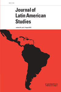 Cover Journal of Latin American Studies