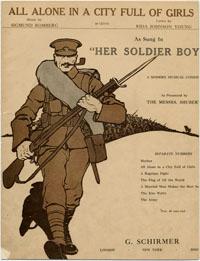 WW I Sheet Music