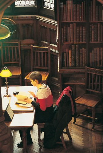 Studying in the John Rylands Library