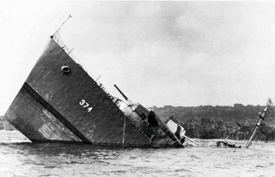 ... schepen vergaan...