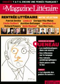Magazine litteraire, www.fabula.org, no. 523, viewed 9/4/2012