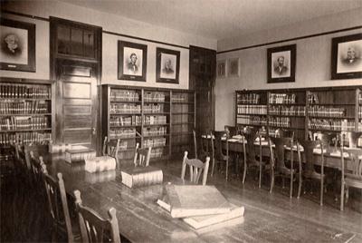 Library circa 1895