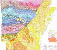 Geologic Map of Arkansas