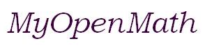 MyOpenMath logo