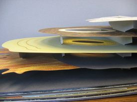 The artist's book Panorama, by Julie Chen.