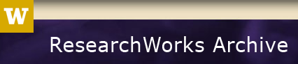 ResearchWorks Archive page title with W logo