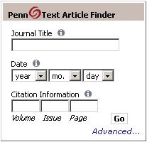 PennText