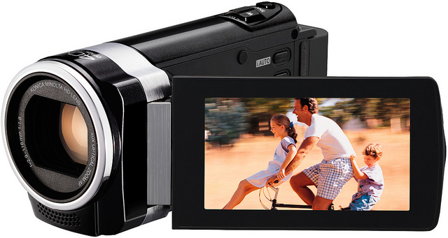 Image of camcorder. © JVCAmerica.  Used under an Attribution 2.0 Generic (CC BY 2.0) Creative Commons Licence