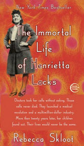 "Cover image of  the book ""The Immortal Life of Henrietta Lacks"" by Rebecca Skloot"