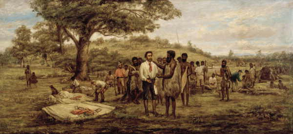 Batman's treaty with the Aborigines at Merri Creek, 6th June 1835 H92.196
