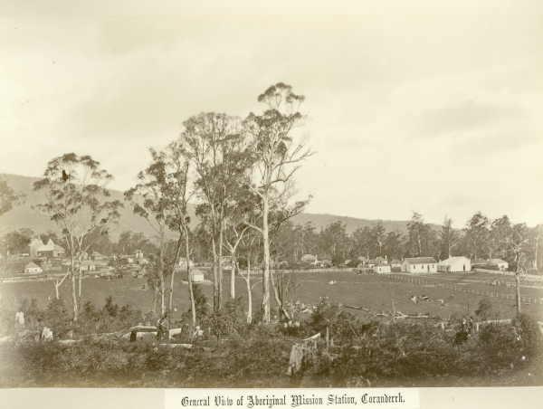 General view of Aboriginal Mission Station, Coranderrk. Fred Kruger. H2006.123/9