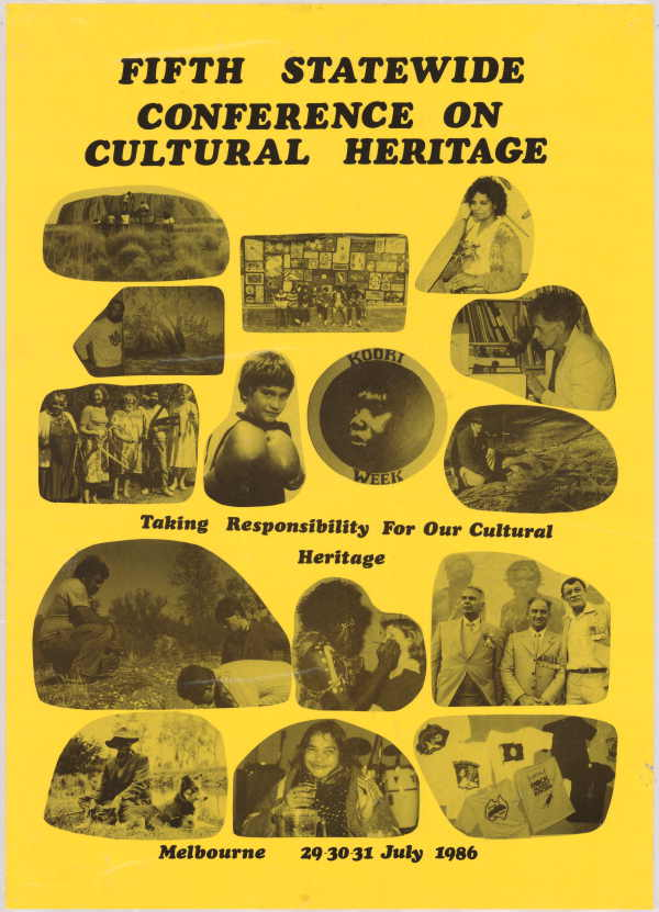 Fifth Statewide Conference on Cultural Heritage.