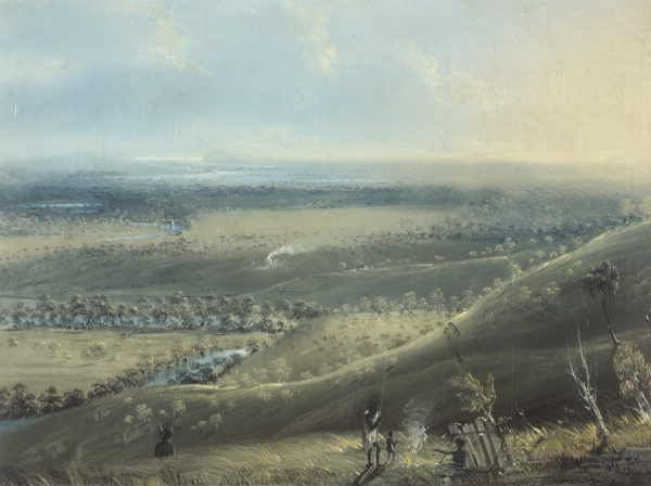 View over the Barwon Valley near Fyansford