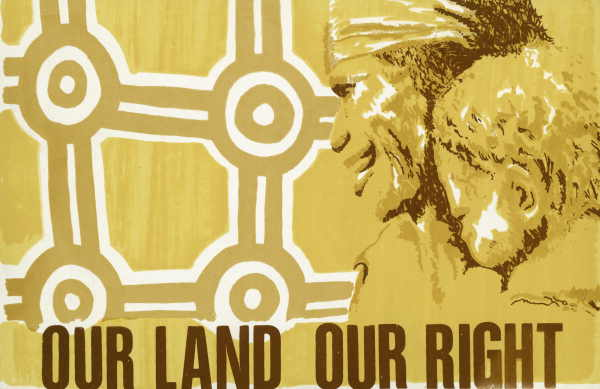 Our land our rights. Red Letter Press