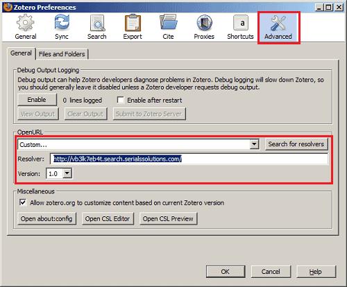 Adding UNC's databases to Zotero